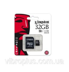 Карта памяти micro-SD 32Gb Kingston Canvas Select UHS-1 class 10